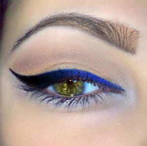 μπλε χρωματιστά μολύβια ματιών 2