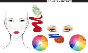 συμπληρωματικά χρώματα στο μακιγιάζ