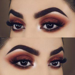 σκιές ματιών για καστανά μάτια